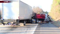 Driver charged in crash that killed 3 construction workers on I-40 in Iredell County