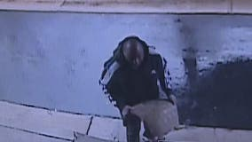 Police searching for a man who vandalized a southwest Atlanta church