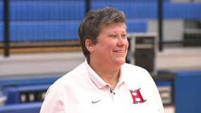 Georgia coach's cancer battle inspires students, community