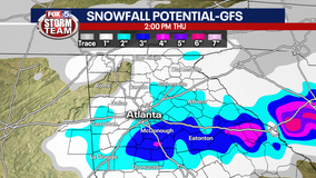 FOX 5 Storm Team Chief Meteorologist David Chandley says snow could be possible next week