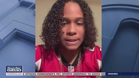 11-year-old represents Atlanta Falcons in Super Bowl's Next 100 commercial