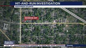 Woman injured in SW Atlanta hit-and-run crash