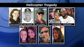 LA County coroner's office officially IDs remaining helicopter crash victims