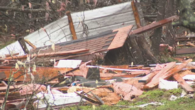 Downed trees, flooding concerns after severe storms roll through north Georgia