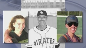 Memorial held for Altobelli family, who died in crash with Kobe Bryant, at Angel Stadium