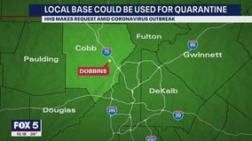 Dobbins Air Reserve could be used as quarantine for coronavirus