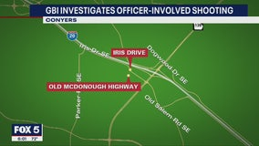 GBI investigates shooting involving Conyers police officer