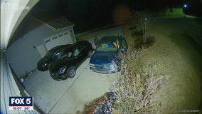 String of break-ins in one community, thieves caught on camera