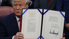 Trump signs law giving veterans smoother path to STEM careers
