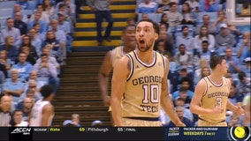 Champagnie pops for 30, Pitt slips by Georgia Tech 73-64