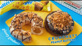 Krispy Kreme, Butterfinger unveil limited-time doughnuts