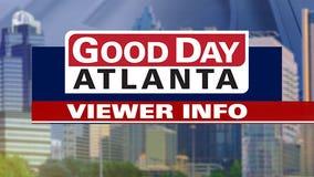 Good Day Atlanta viewer information February 24, 2020