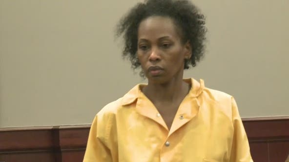Wife of beloved Atlanta police officer makes first appearance charged with his murder