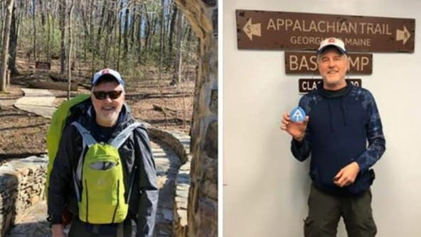 Hiker goes missing along Appalachian Trail in north Georgia
