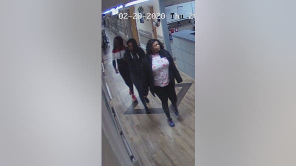 Search continues for trio of women wanted for thefts
