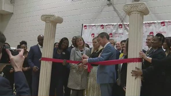 Governor, first lady help open new center for trafficked youth
