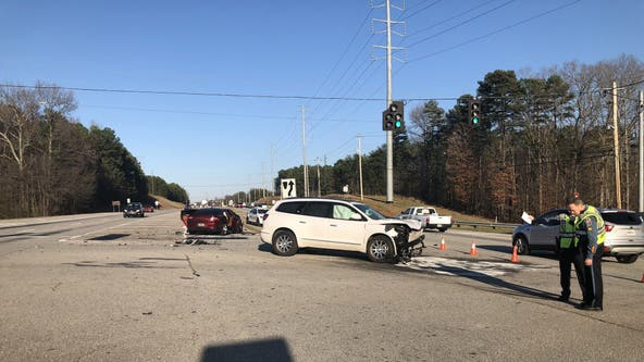 Police: Man fired at officer responding to Gwinnett County crash