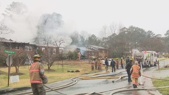 Fire rips through Clayton County family's home and vehicles