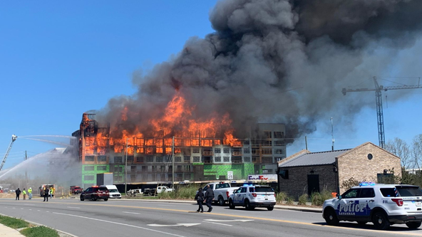 Fire breaks out at hotel construction site in Savannah