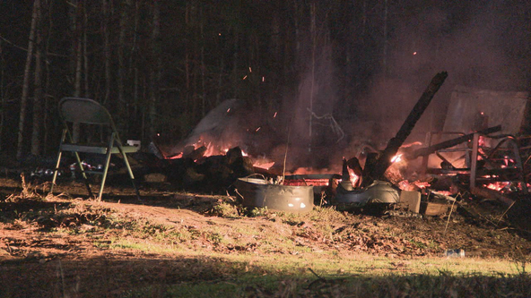 Retiree, dog dead in Coweta County mobile home fire