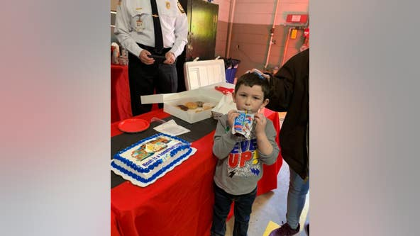 5-year-old awarded for heroic, lifesaving actions
