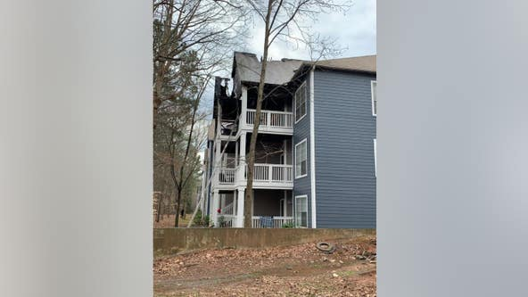 Woman arrested for arson at Kennesaw apartments