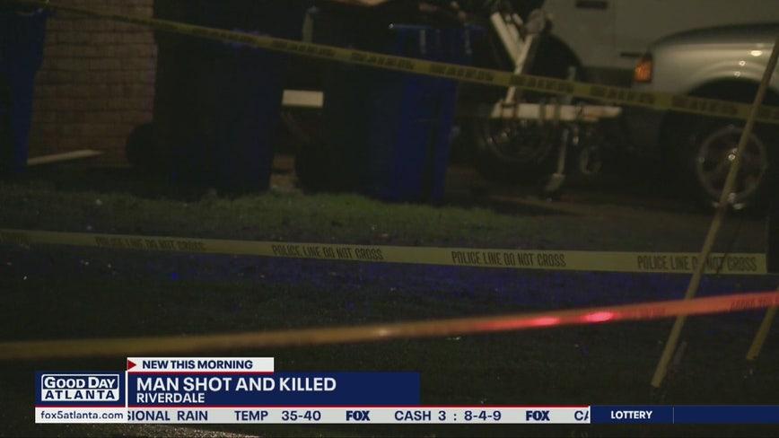 Police: Man shot, killed in Riverdale home