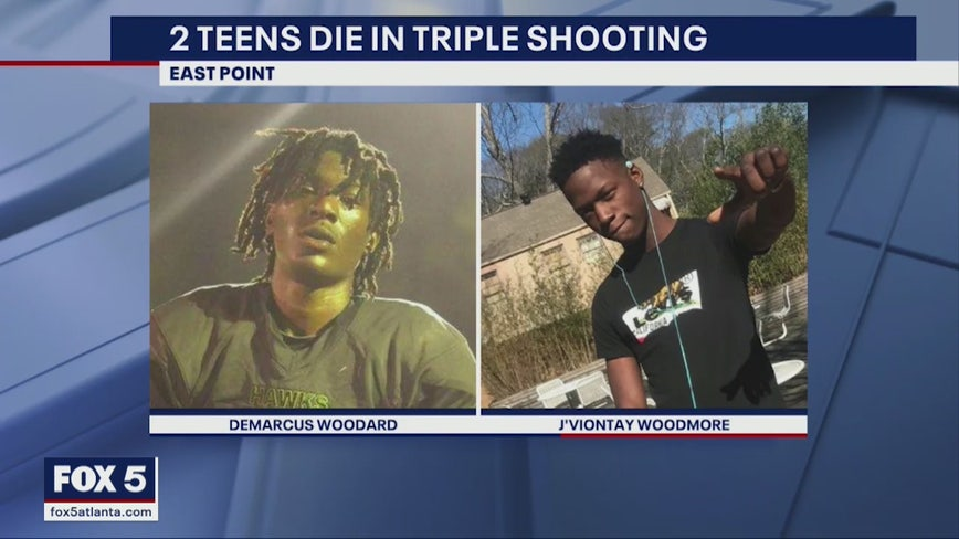 2 teens killed in East Point triple shooting