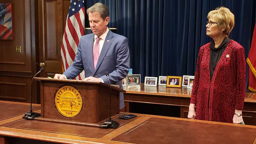 Gov. Kemp names state coronavirus task force