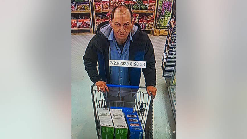 Police searching for Walmart vacuum cleaner theft suspect
