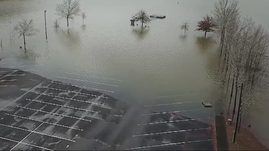 February's rainfall still shy of being record-breaking in Georgia
