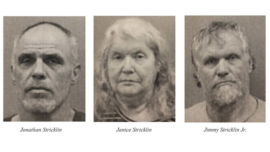 3 Chattooga County family members arrested for stealing power, causing fire