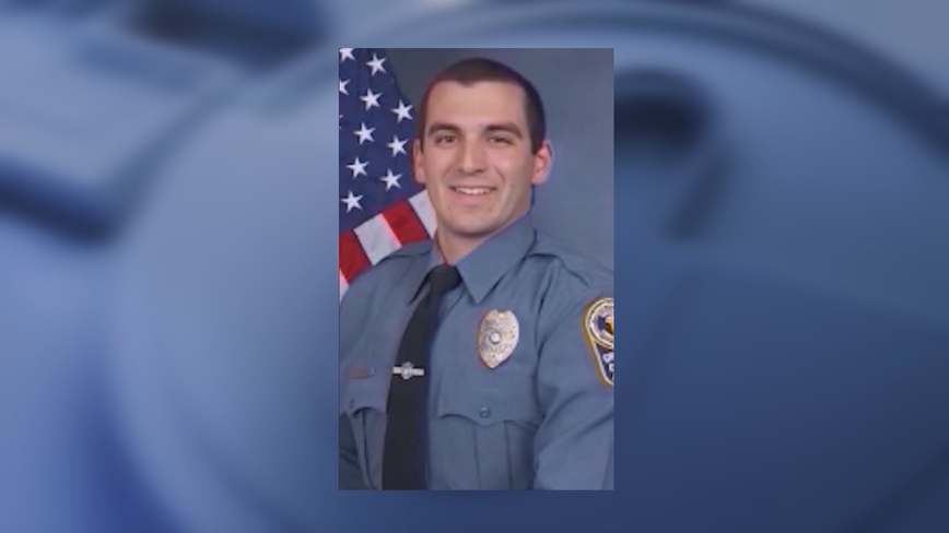 Former officer charged with assault takes the stand