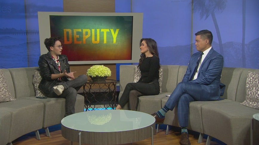 Bex Taylor-Klaus discusses historic coming-out episode on FOX's 'Deputy'