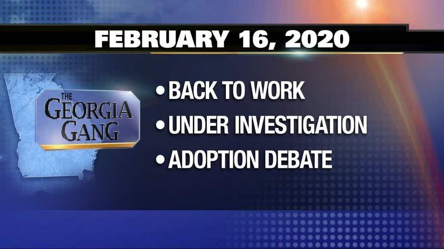 The Georgia Gang: February 16, 2019