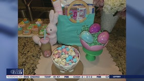 Easter basket ideas from party planner Brittany Sharp