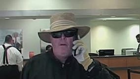 Hiram police searching for bank robbery suspect