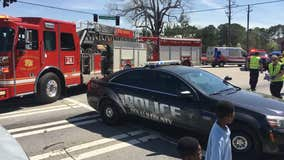2 children struck by car while crossing a DeKalb County road