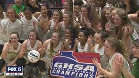 Buford girls basketball wins fourth straight championship