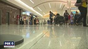 Coronavirus screening at Atlanta's airport