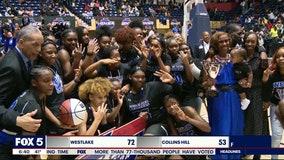 Westlake girls win third consecutive state championship