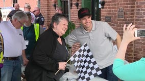 Homegrown driver David Ragan honored in Hampton prior to AMS race weekend