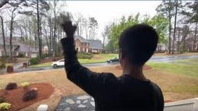 Georgia boy surprised with special 10th birthday parade