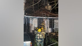Family displaced after fire destroys Gwinnett County home