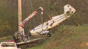 Pilot injured in small plane crash in Coweta County