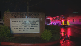 Carbon monoxide detectors set off by cleaning crew at Johns Creek school