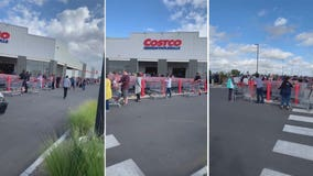 'This is ridiculous': Long line snakes outside Australia Costco amid panic-buying