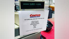 Costco stores aren't accepting returns on water, rice, other high-demand items amid COVID-19