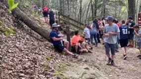 Thousands of hikers crowd Georgia trails as surrounding states close parks