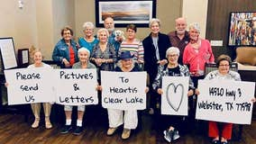 Nursing home asks public to send in letters, photos, and artwork for company